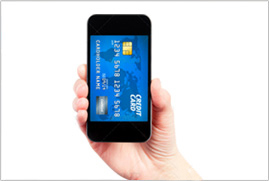 touchscreen mobile payments