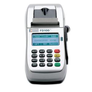 First Data FD100ti credit card machine