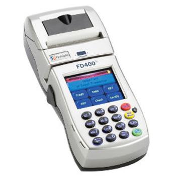 first data FD400ti credit card machine