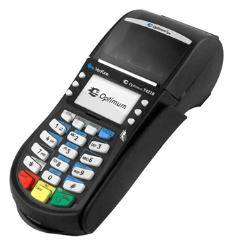 verifone t4210 payment terminal