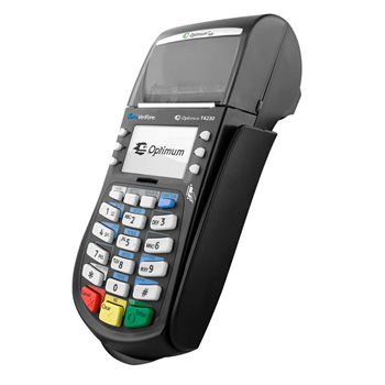 verifone t4230 credit card machine
